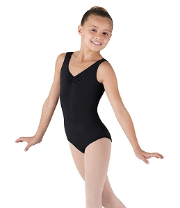 Mondor Childrens Pinched Front and Back Leotard