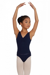 Mondor Childrens Pintched front leotard