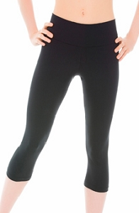 Matrix wide waistband capri pant