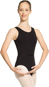 MONDOR Tank Bodysuit (Adults)(Black)