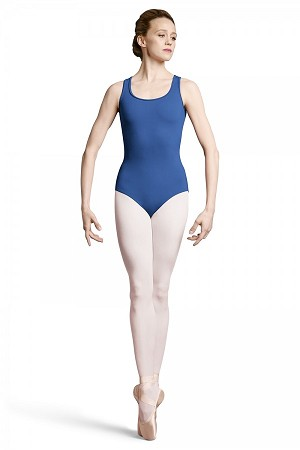 Bloch Lace-Up Back Opening Tank Leotard